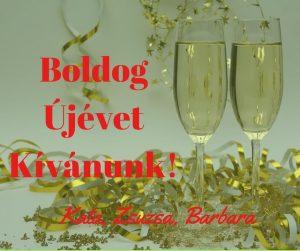 Boldog újévet kívánuk!