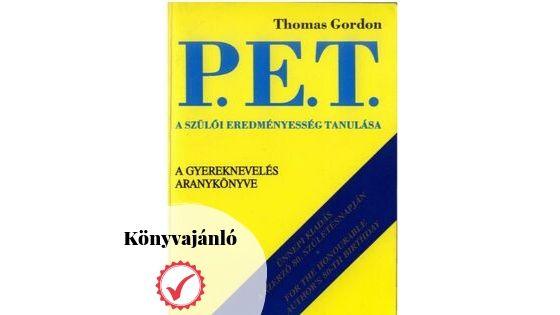 Könyvajánló: Thomas Gordon: P.E.T.