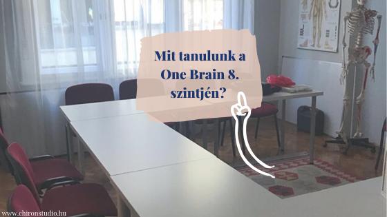 Mit tanulunk a One Brain 8. szintjén?