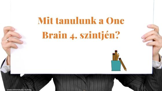 Mit tanulunk a One Brain 4-es tanfolyamon?